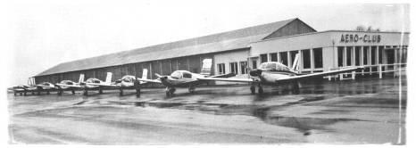 La flotte de l'Aéro-club en 1975