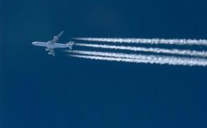 Il y a t-il beaucoup d'avions dans le ciel ?